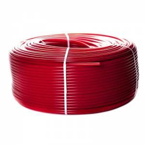 Труба 20*2,0 PE-Xa/EVOH из сшитого полиэтилена с антидиффузионным слоем, красная