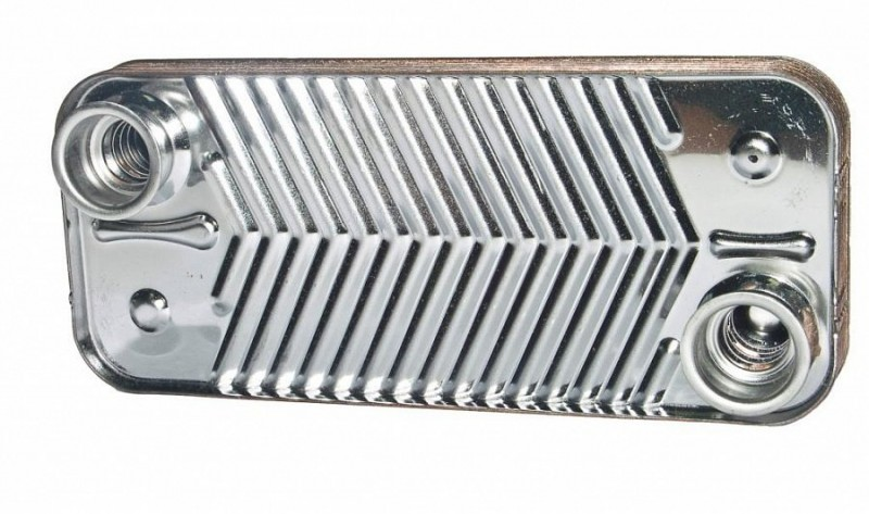 Теплообменник ГВС для Deluxe 40K